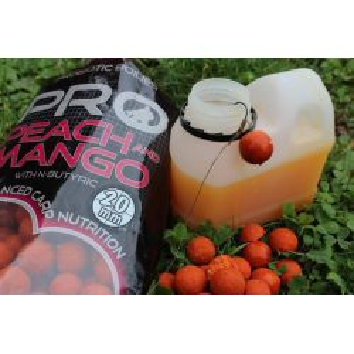 STARBAITS PRO Peach Mango BOOST /GLUG 500ml (Melocoton mango)