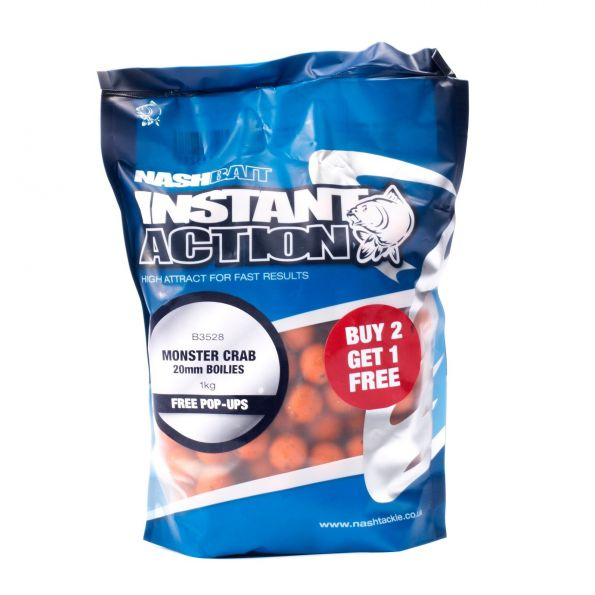 Nash Boilies Monster Crab 18mm 1kg