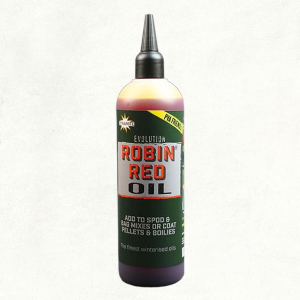 Dynamite Baits Evolution Robin Red Oil 300ml (Aceite)