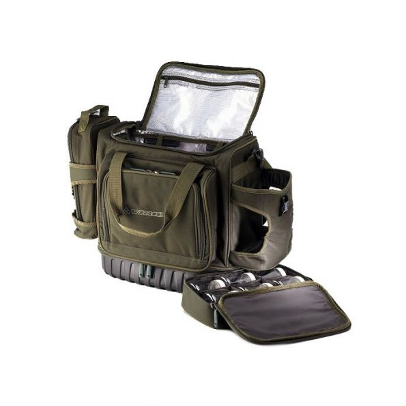 VIRUX Bolsa Termica con un portabajos y un portabotes MXPC02T