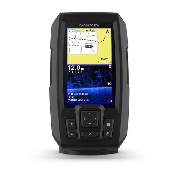 Garmin Striker Plus 4CV- 4,3¨¨ Sonda y Gps TransductoR GT20-TM