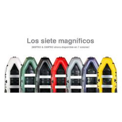 AQUAPARX BARCA 230M PRO (7 colores disponibles)