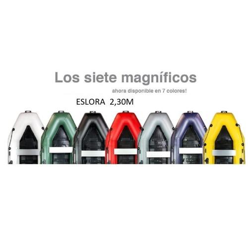 AQUAPARX BARCA 230M PRO BLANCA (7 Colores)