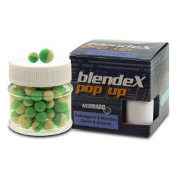 HALDORADO BLENDEX POP UP 12mm-14mm -AJO Y ALMENDRA