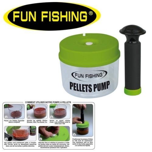 Funfishing Bomba de Vacio para Pellets