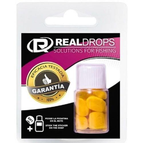 Real Drops Maiz Amarillo flotante en aroma PIÑA 8 unid