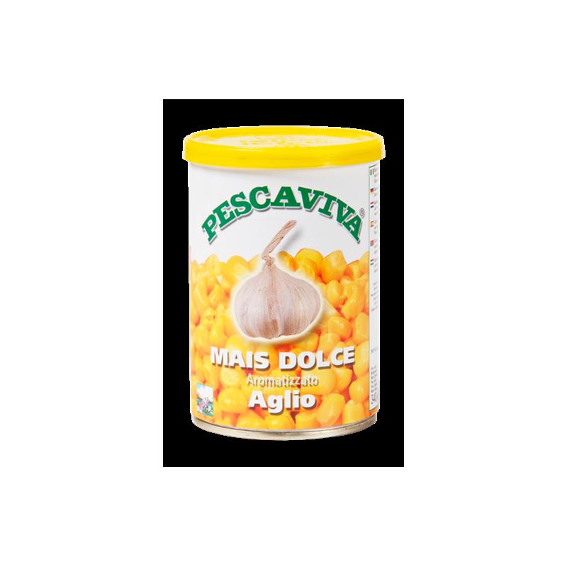 Pescaviva Maiz con Aroma AJO 340gr