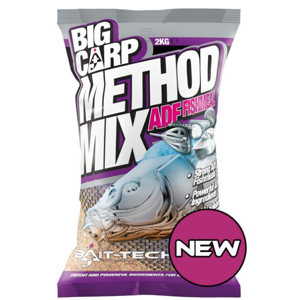 Baitech Big Carp Method Mix: ADF Fishmeal 2Kg