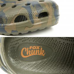 FOX CHUNK CAMO CLOGS