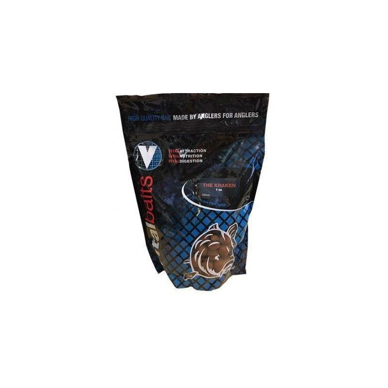 Vital Baits Boilies 20mm KRAKEN 1kg (Squid&octopus)