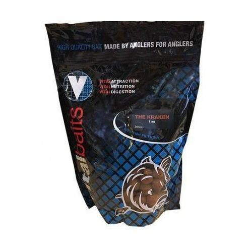 Vital Baits Boilies 24mm KRAKEN 1kg (Squid&octopus)