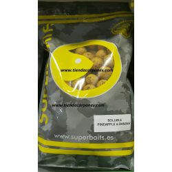 Superbait Boilies Solubles 20mm 1kg Piña y Banana