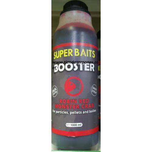 SuperBaits Booster Robin red&Monster Crab 1lt