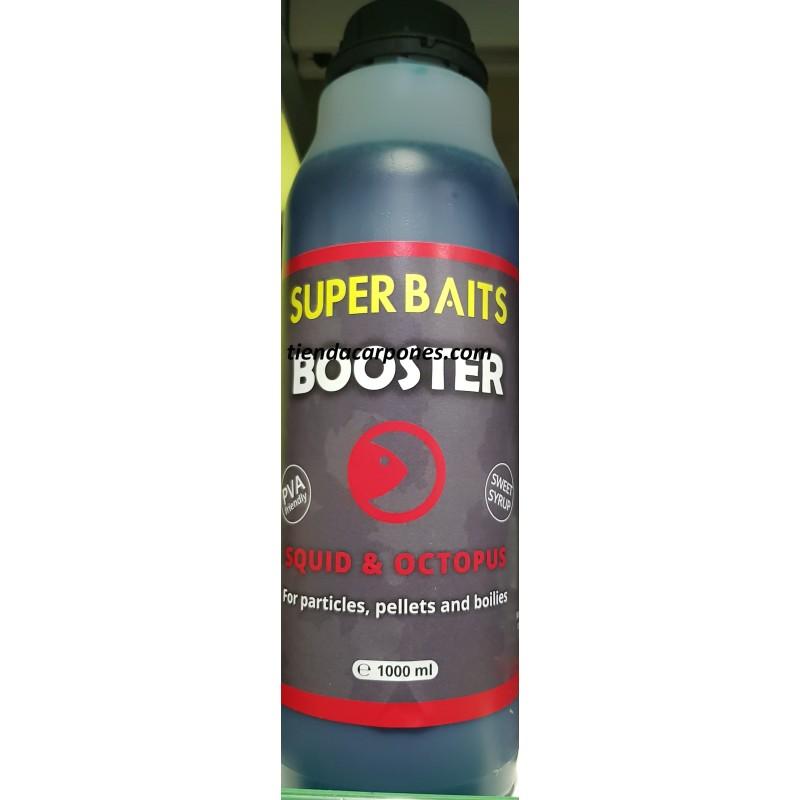 SuperBaits Booster Squid&Octopus 1lt (Pulpo y Calamar)
