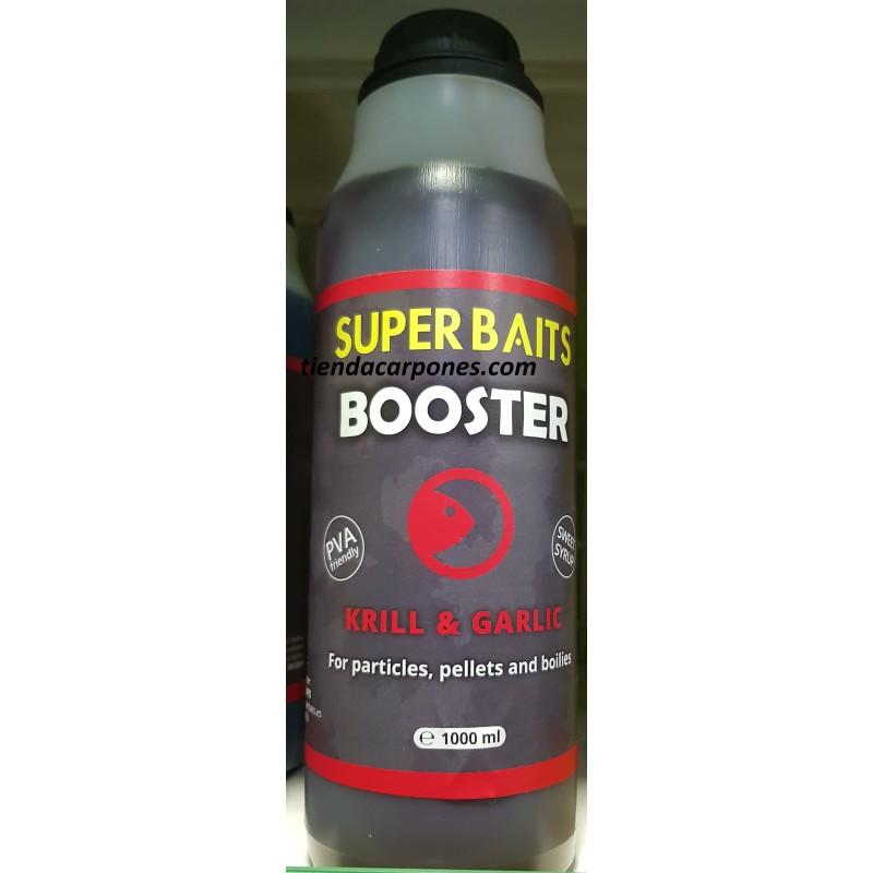 SuperBaits Booster Krill&Garlic 1lt