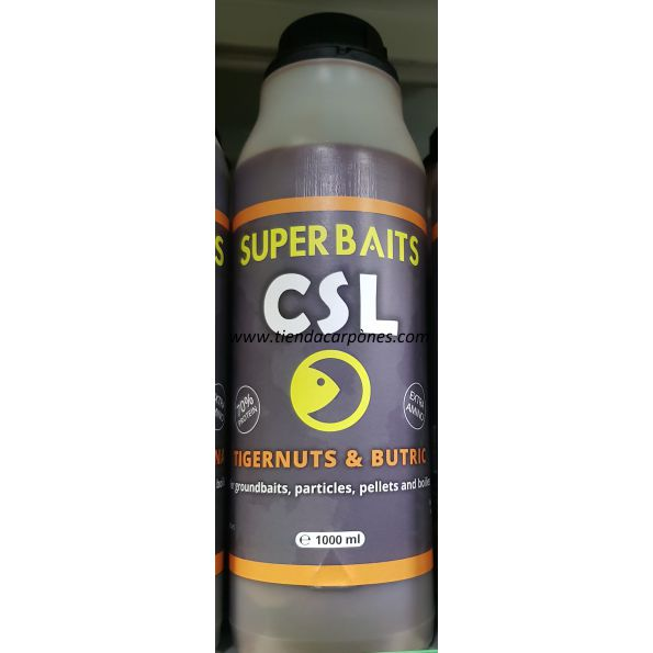SuperBaits CSL (Licor de Maiz) Squid Octopus 1lt