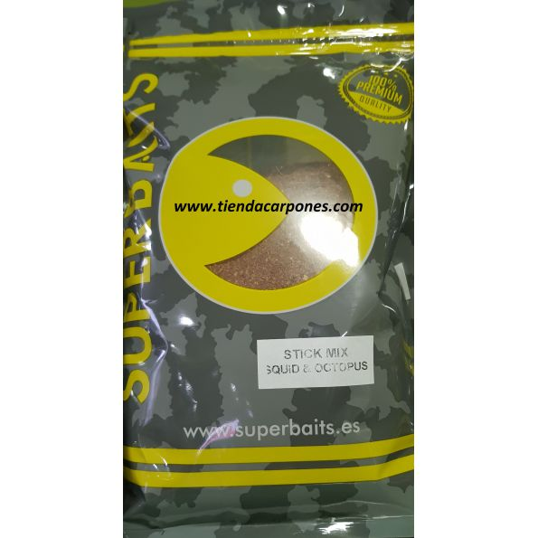SuperBaits Stick Mix Squid&Octopus 900gr