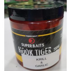 Superbait Chufas XXL Krill&Garlic 250ml